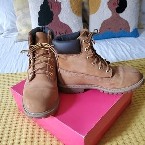 Timberland Leather Boot Men's 5, Women's 7